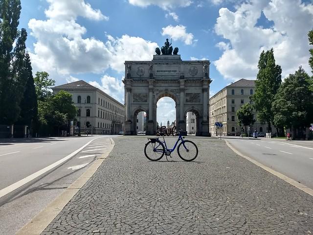 Hotel Rental Bike in Munich