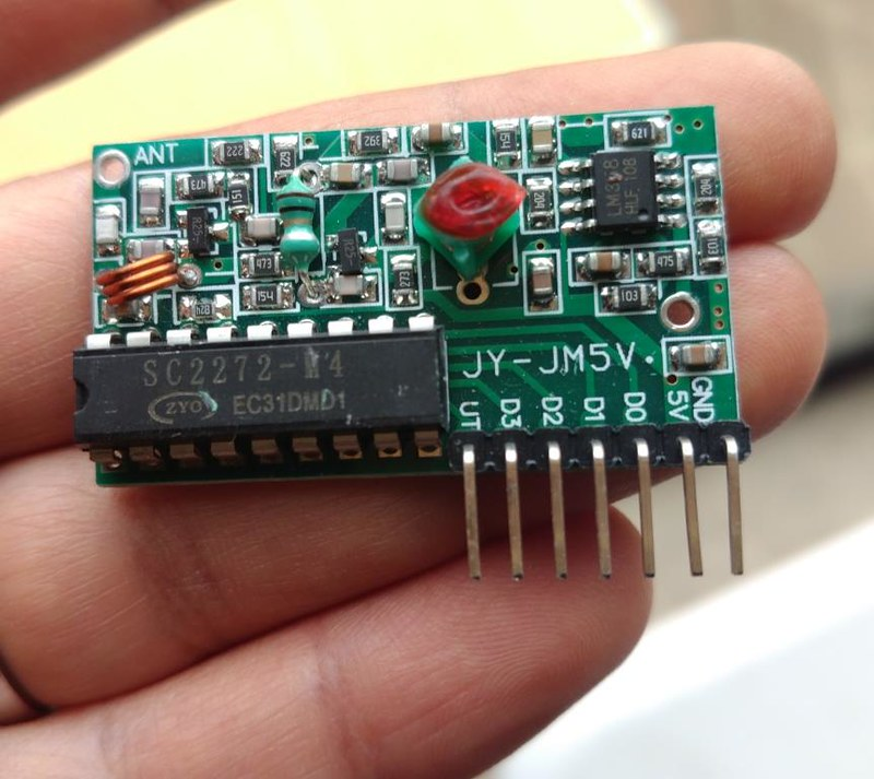 The 4 channel Receiver module