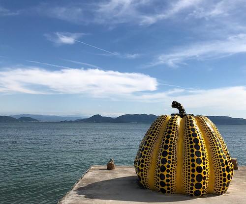 海邊的南瓜 #日本直島 #草間彌生 | one_piece_xx | Flickr