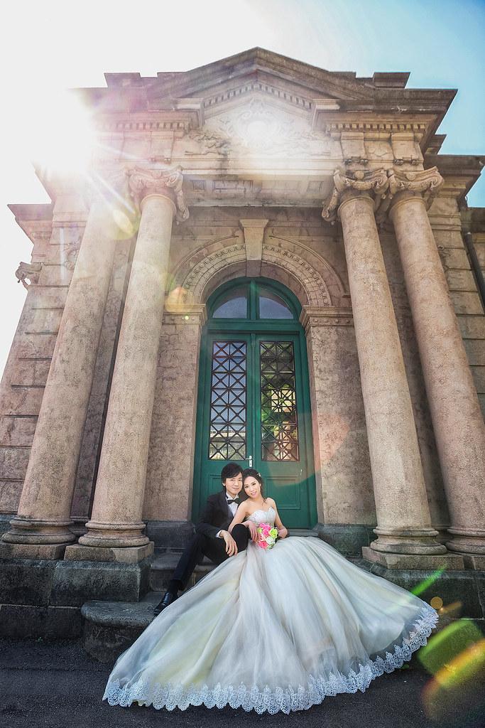 008自來水博物館-藍天白雲-婚紗攝影-婚紗照-臺北 | 阿卜的攝影工作室 | Flickr
