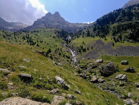 Estación de Canfranc casi hasta la dolmen de Izas