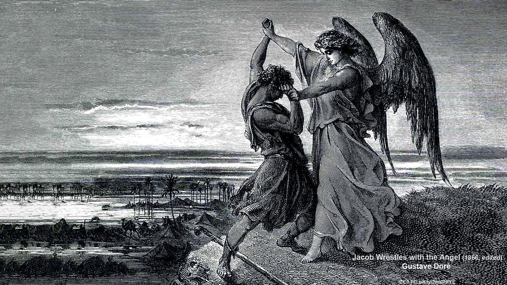 창세기 32장 천사와 싸운 야곱