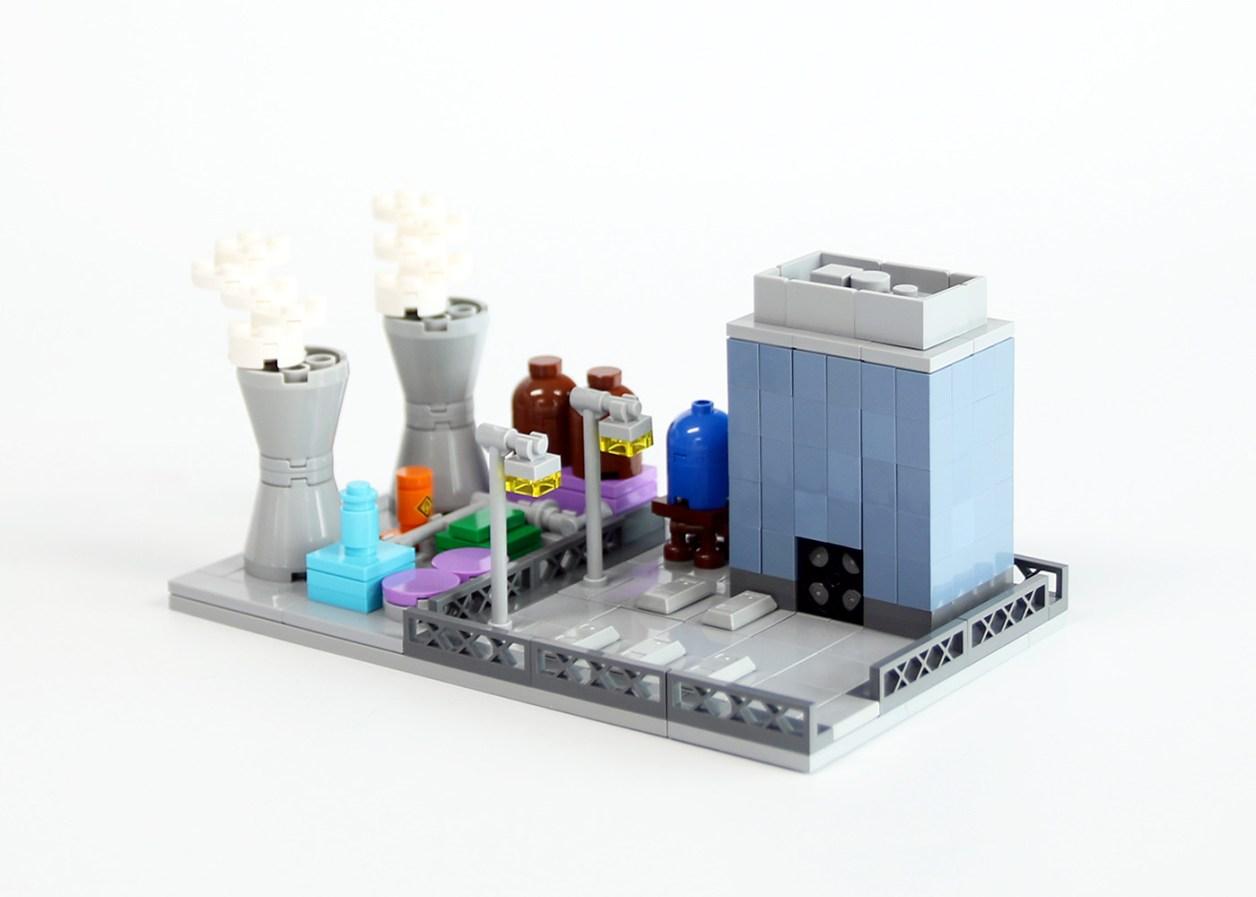 mini Springfield nuclear power plant