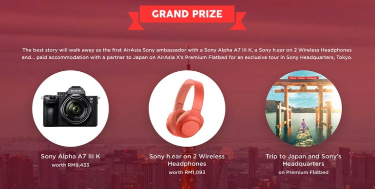 Air Asia Sony Through The Lens Contest