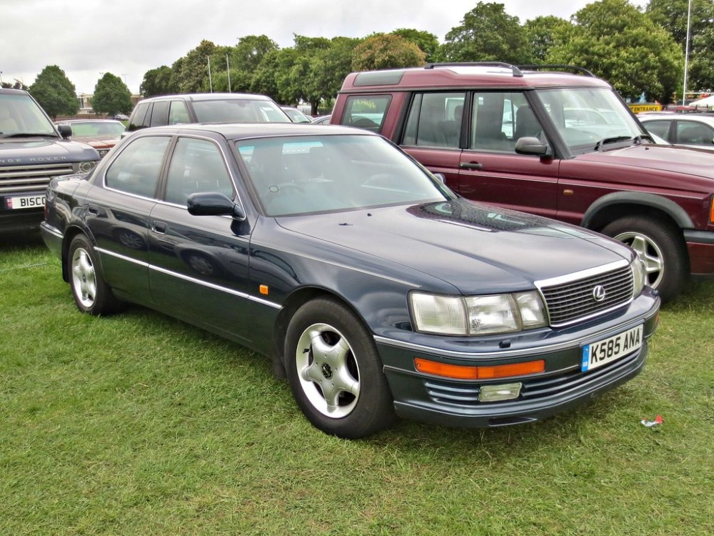 medium resolution of  332 lexus ls400 1st gen facelift 1993 by robertknight16