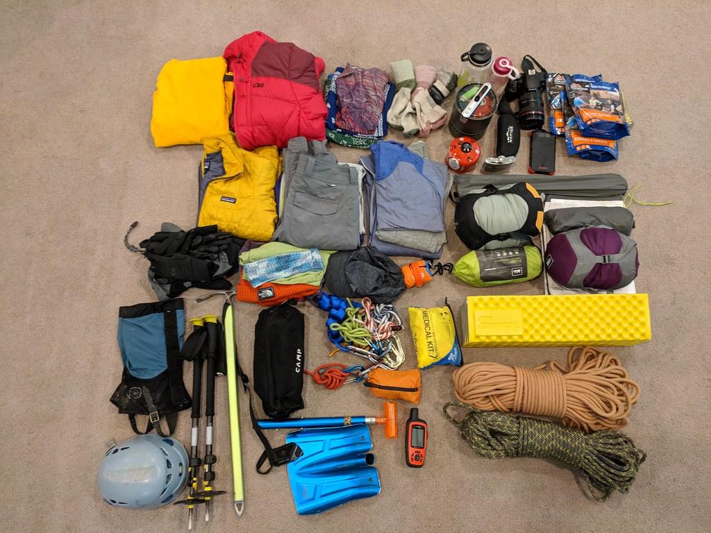 Mount Rainier packing