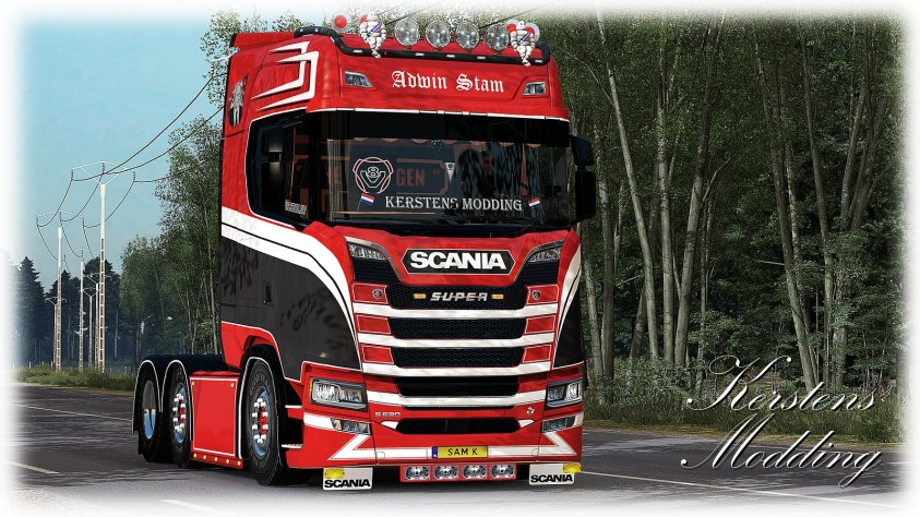 Adwin Stam Scania next generation
