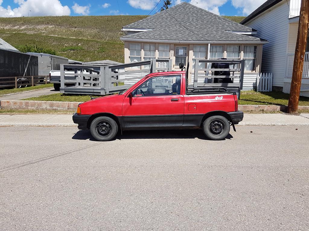 ford festiva truck ford