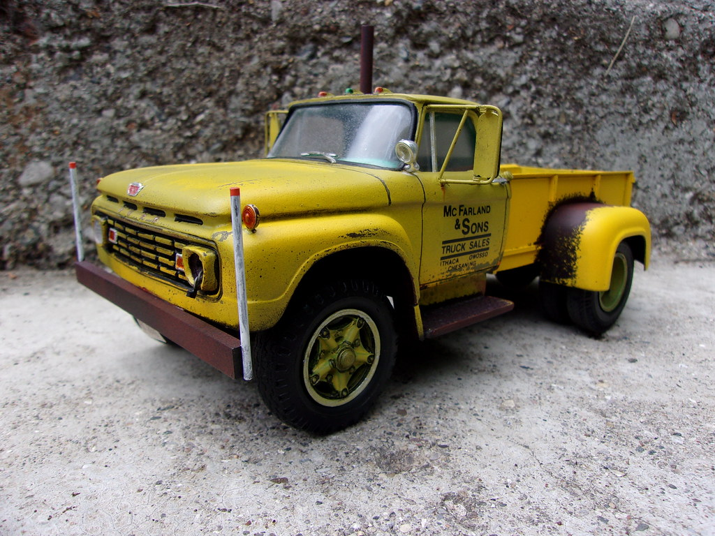 hight resolution of  1963 ford f750 by madhouse miniatures