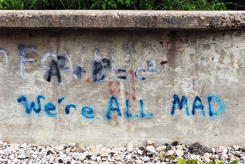 math graffiti with a