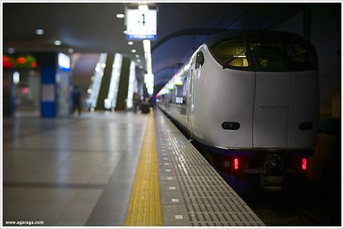 Haruka Express   The Haruka Express train connecting Kansai …   Flickr