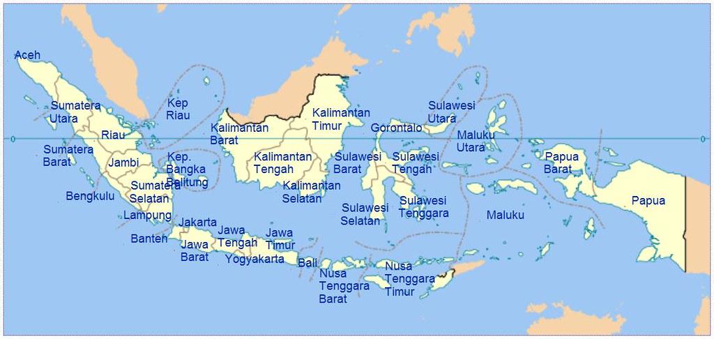 Indonesia sekarang tahun 2017 sudah ada 34 provinsi bahkan ada kemungkinan pemekaran provinsi baru di papua. Gambar Peta Indonesia Beserta Ibukota Via Blogger Bit Ly 2 Flickr
