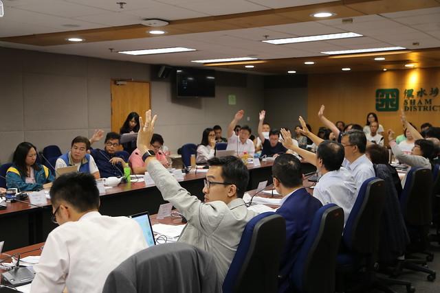 34歲楊彧勢仼深水埗區會主席:必否決無意義撥款 | 獨媒報導 | 香港獨立媒體網