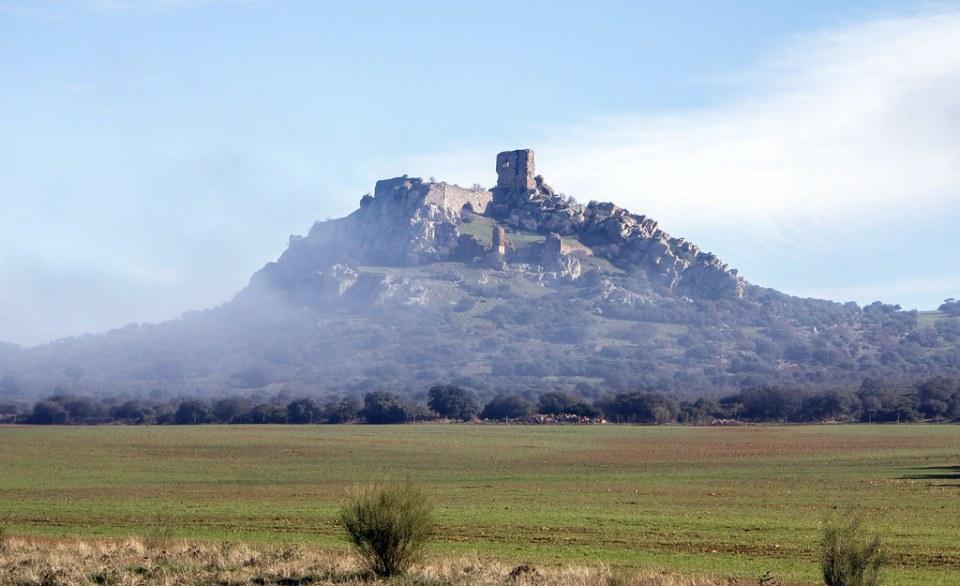Castillo de Salvatierra en Campo de Calatrava Aldea del Rey Ciudad Real 02