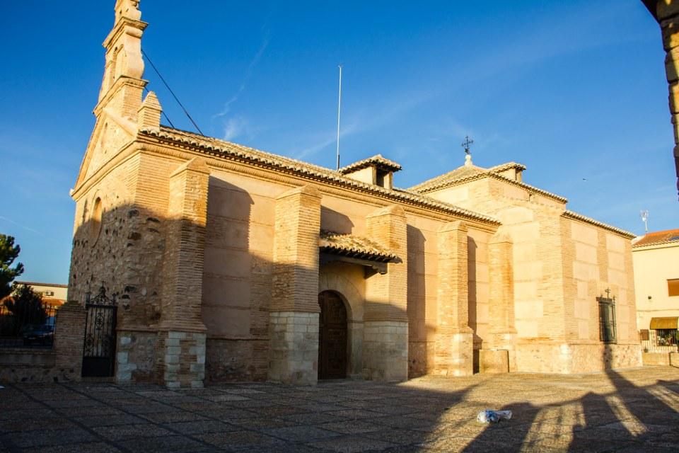 Exterior Iglesia Santuario Virgen de las Nieves Bolaños de Calatrava Ciudad Real