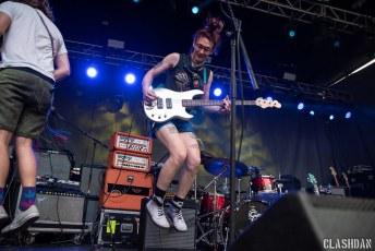 Speedy Ortiz @ Hopscotch Music Festival, Raleigh NC 2018