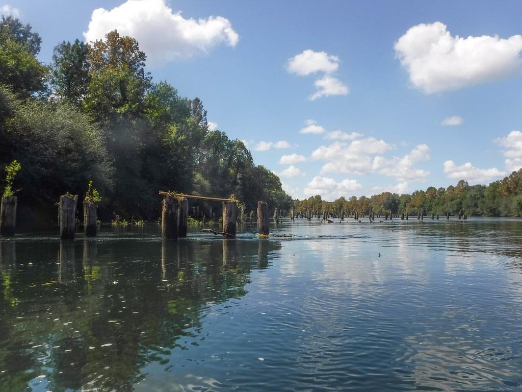 Savanah River with LCU-73