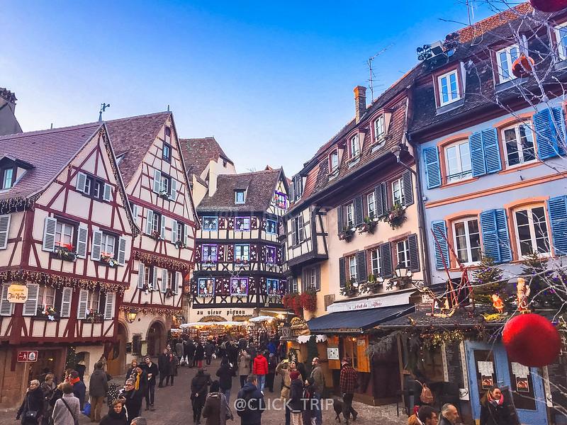 Qué ver en Colmar en un día · Ruta de un día por Colmar · Colmar en Navidad · Los pueblos más bonitos de Alsacia · Click_Trip