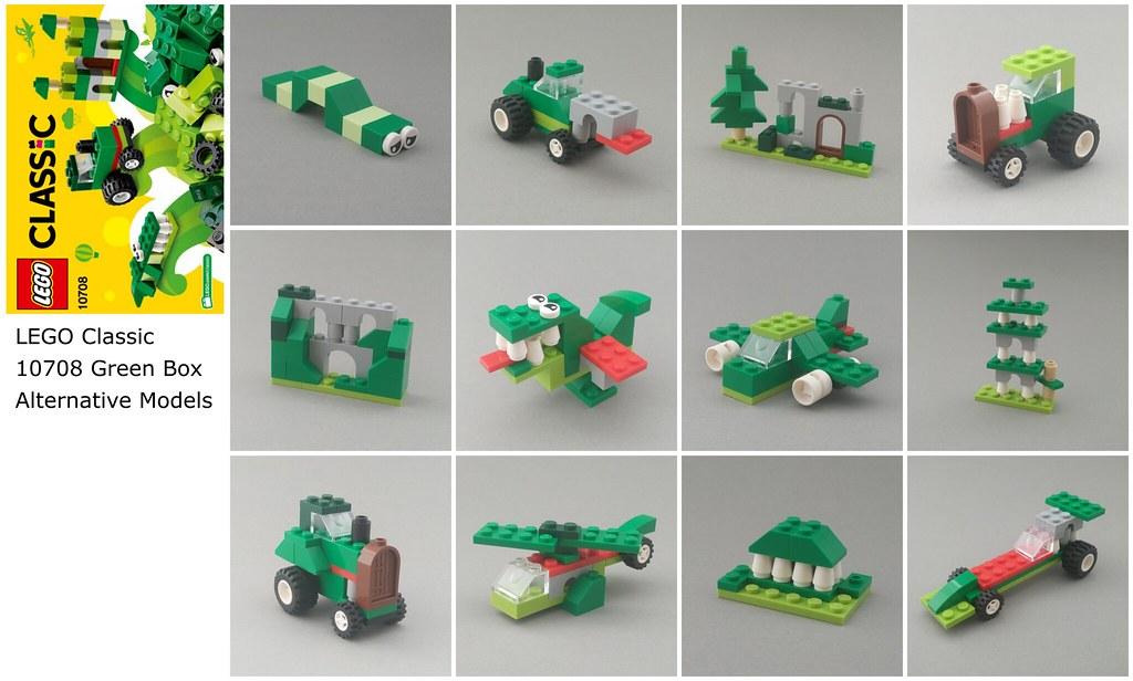 green creativity box now