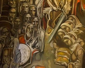 Mondernist paintings by Teofan Sokerov in the Patriarchal … | Flickr