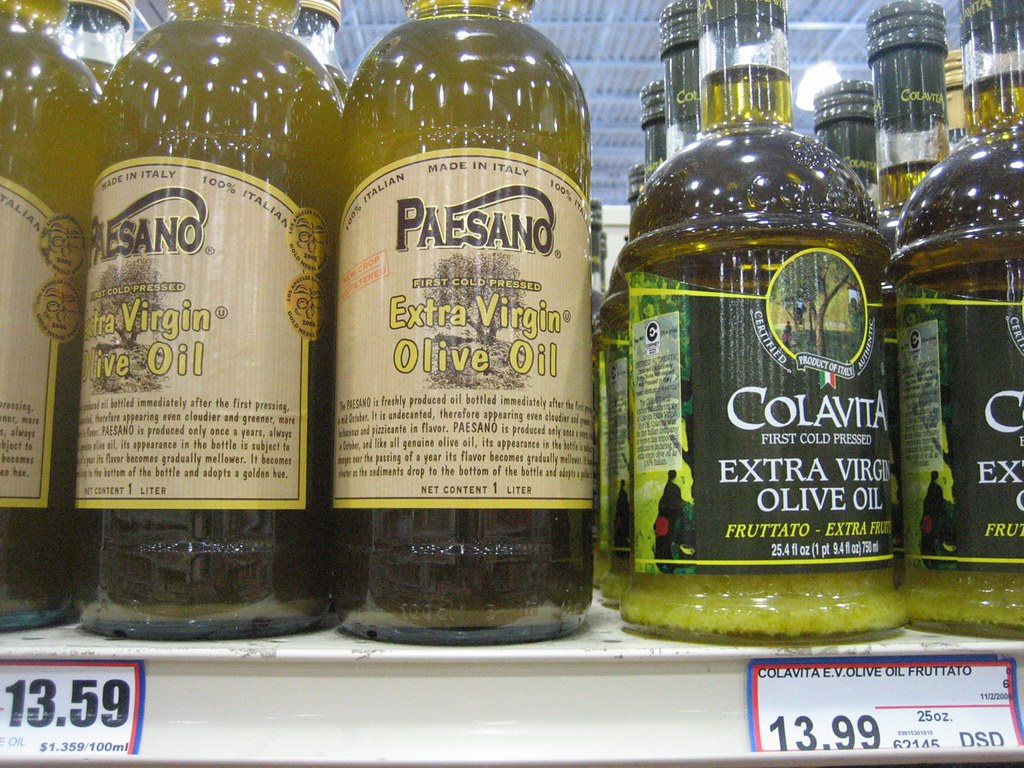 Dirty olive oil | Not really it's just unfiltered ...