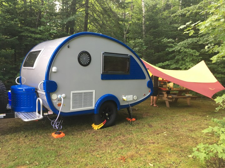 Camp in the Adirondacks