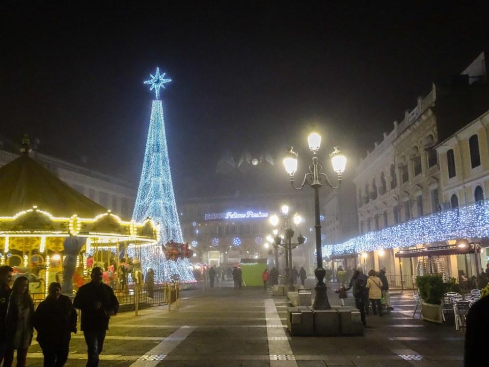 Plaza Mayor de noche Ciudad Real 01