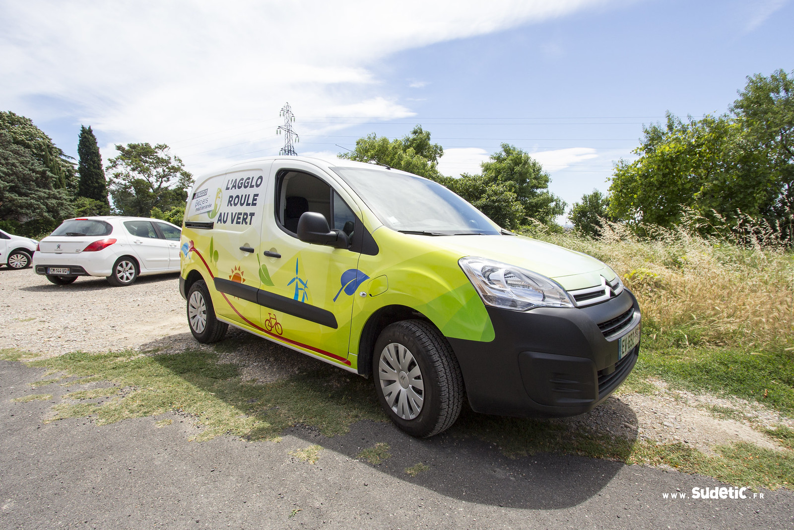 Sudetic total covering Citroen Berlingo Agglo Beziers Med-7