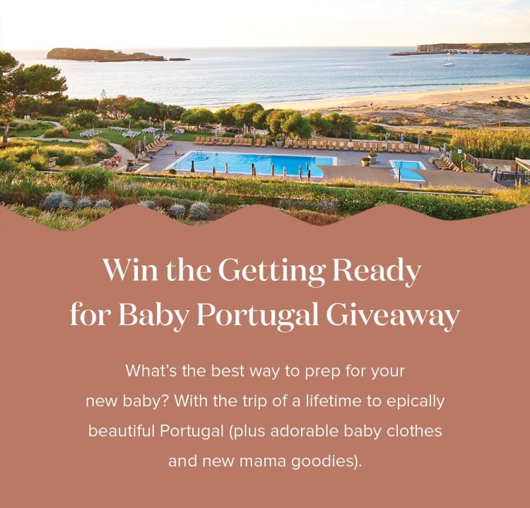 Win a Babymoon to Portugal!