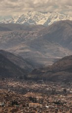 View of Cusco from Saqsayhuaman