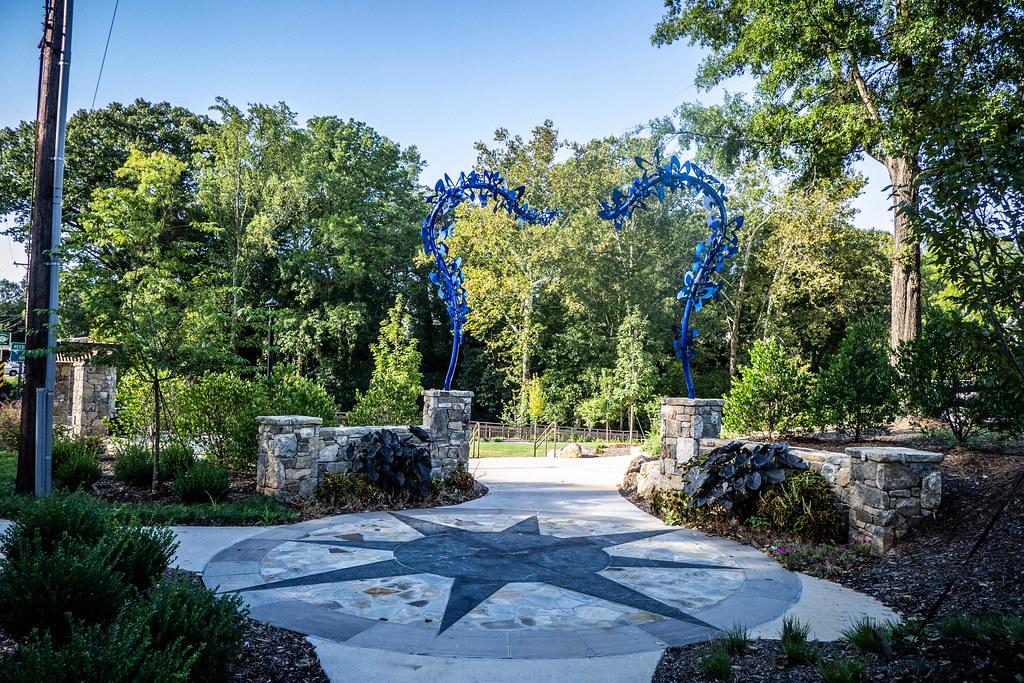 Cancer Survivor's Park and Falls Park