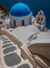 Steps to Cliff-side Church