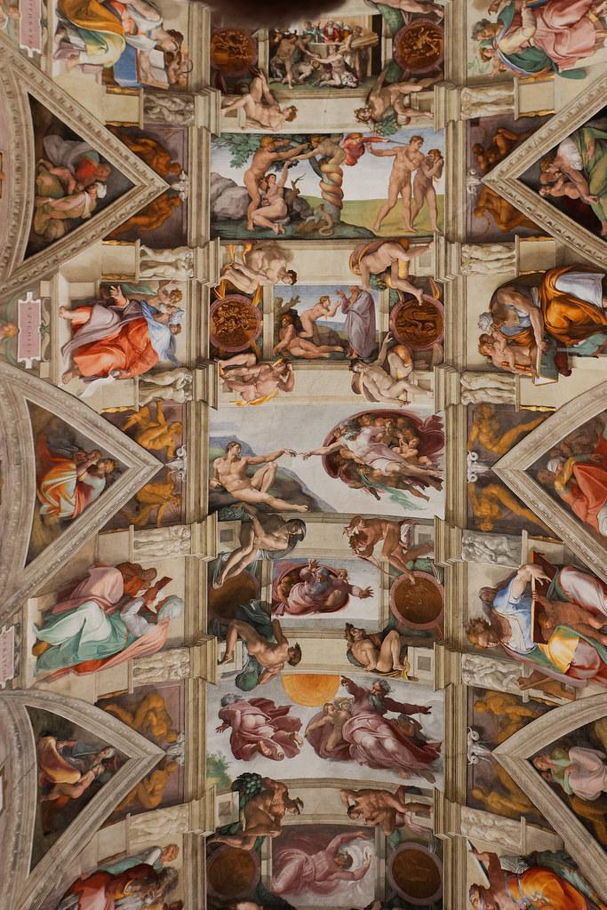 La Chapelle Sixtine Michel Ange : chapelle, sixtine, michel, Michel-Ange,, Plafond, Chapelle, Sixtine., Pascal, Lacour, Flickr