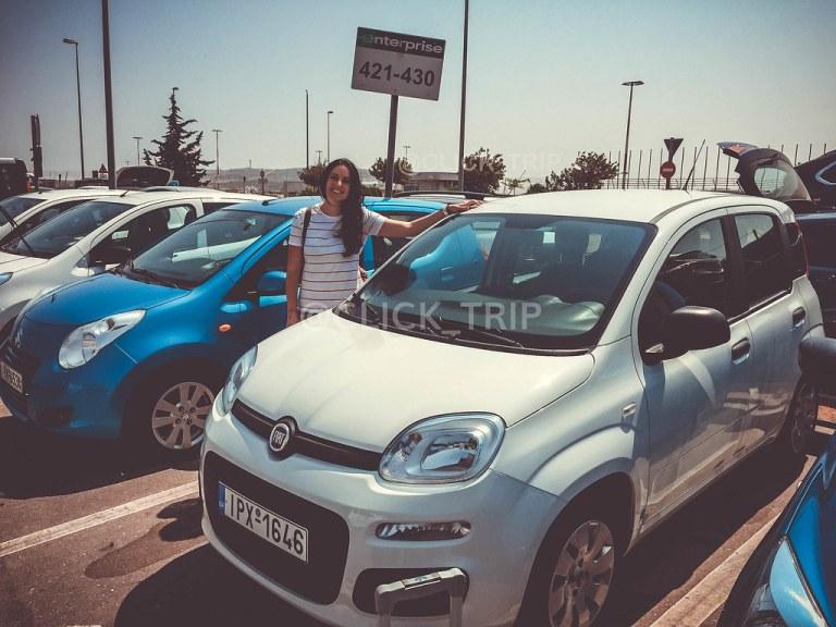Coche de Alquiler | Ruta en coche por Grecia | Road Trip | Peloponeso | Grecia continental