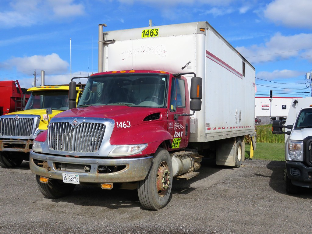 hight resolution of  manitoulin unit 1463 international durastar 4300 box truck by gerald wayne prout