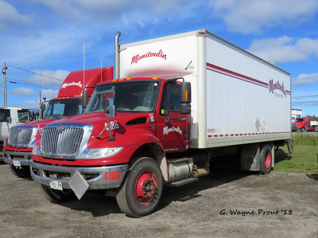 hight resolution of  manitoulin 4186 international durastar box truck by gerald wayne prout