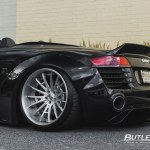 Slammed Liberty Walk Widebody Audi R8 Spyder With 20in Savini Sv75 Wheels And Michelin Pilot Sport 4s Tires A Photo On Flickriver