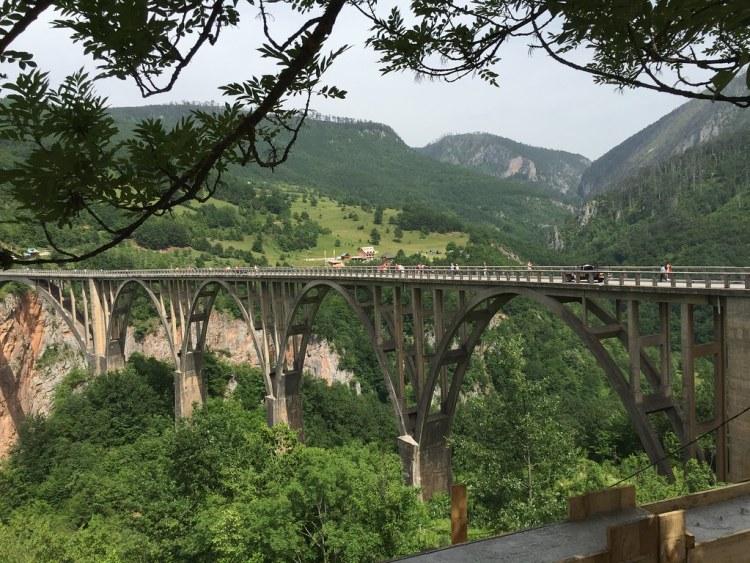 Tara Bridge, Montenegro