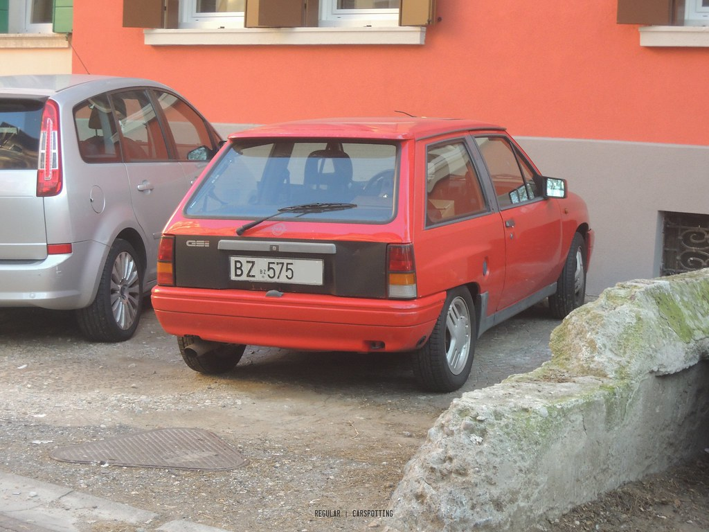 hight resolution of  opel corsa a gsi by regular carspotting