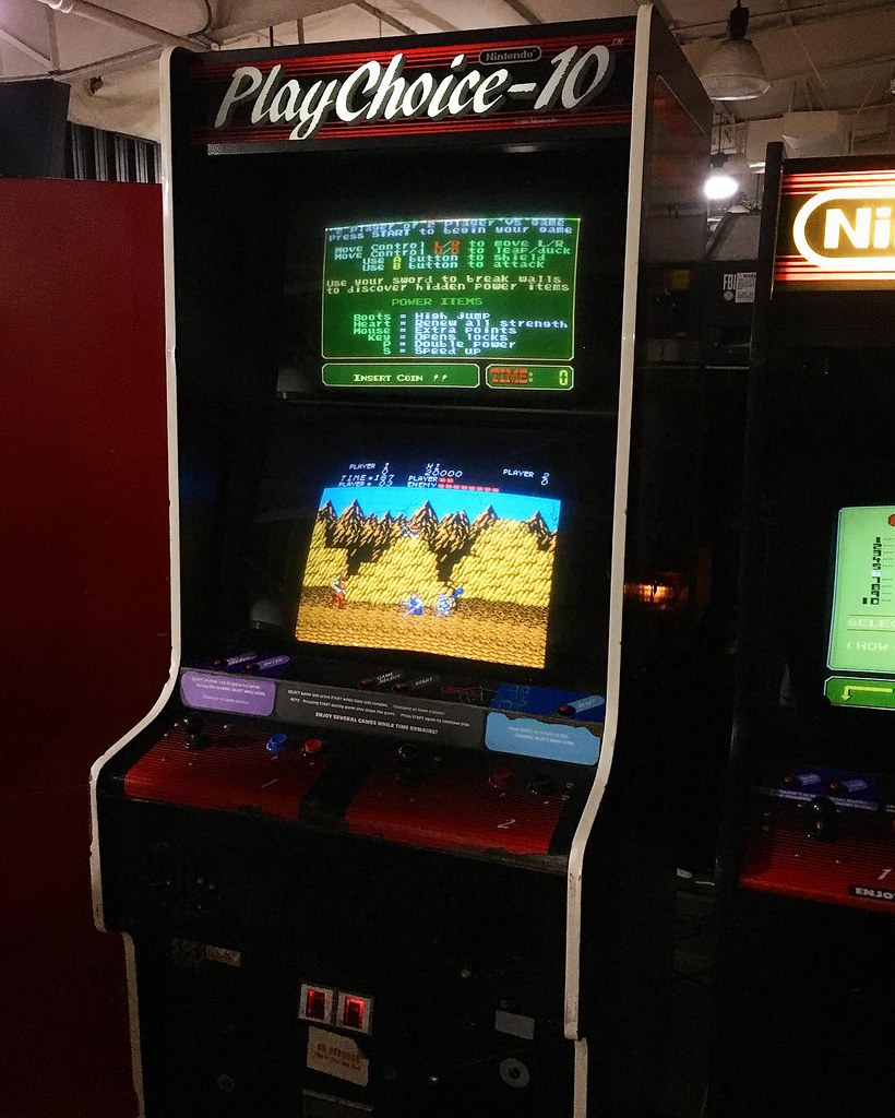 some cool arcade cabs