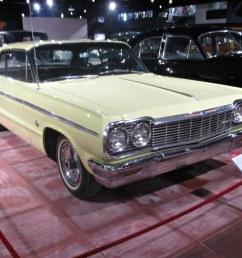 59 chevrolet impala ss 3rd gen 2 door hardtop 1964 by [ 1024 x 768 Pixel ]