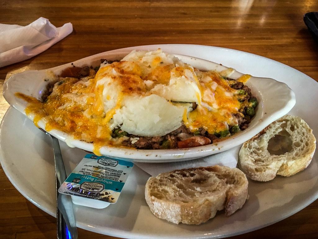 Shepherd's Pie at Dugan's Pub