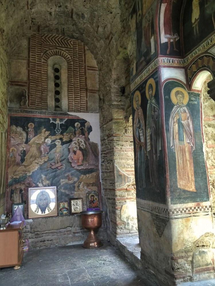 Gračanica Monastery Frescoes, Kosovo
