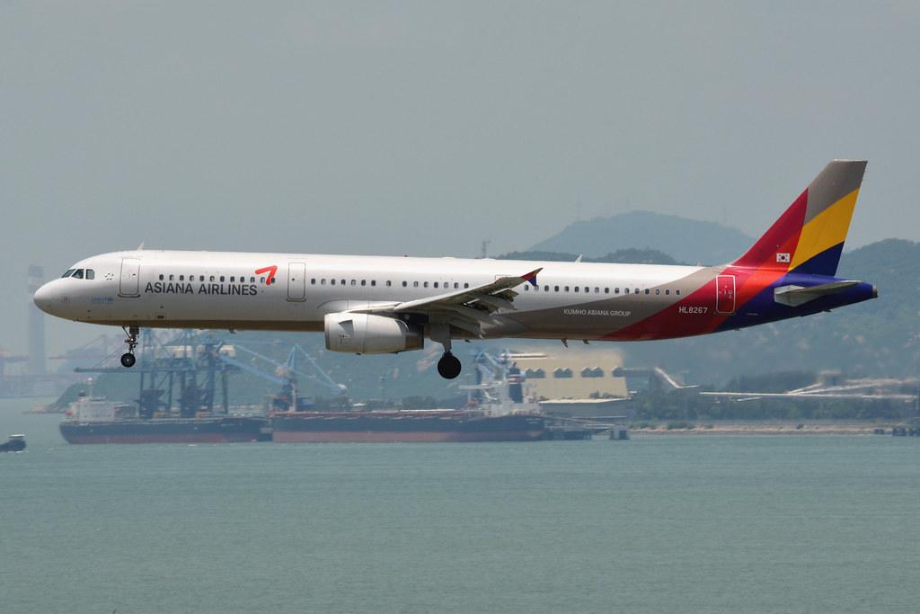 Asiana Airlines HL8267   18/08/14. Hong Kong International A…   Flickr