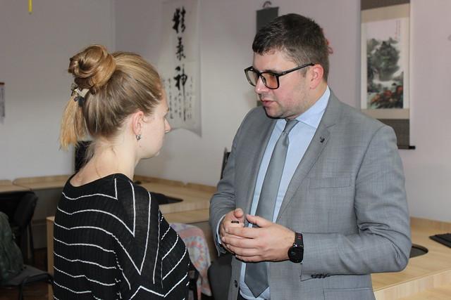 Зустріч зі студентами КНУ ім. Тараса Шевченка