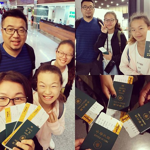 20181103 第一次全家一起出國 樣樣都新鮮 孩子們嗨爆了 #一家子的旅行 #一家子搭飛機 #雖然我們明天就回來 ...
