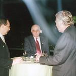 Michael Erlhoff, Alfred Biolek, Welfhard Kraiker, Berlin, 2001