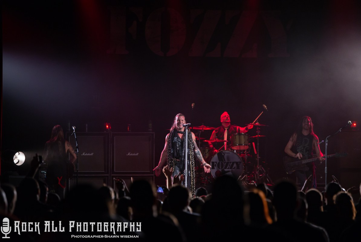Fozzy - Bogarts - Cincinnati, Ohio 9/16/18