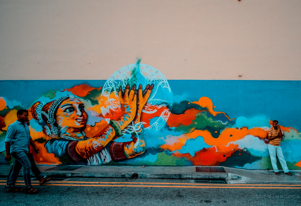 Street Mural in Little India
