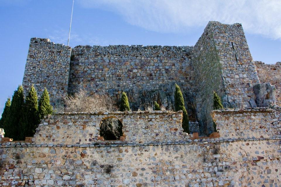 segunda muralla exterior Sacro Convento y Castillo de Calatrava la Nueva Aldea del Rey Ciudad Real 02
